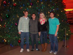 Glen and I had a great trip in Vegas with our friends, Brandon and Madison.