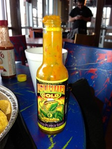 One of the Iguana sauces.