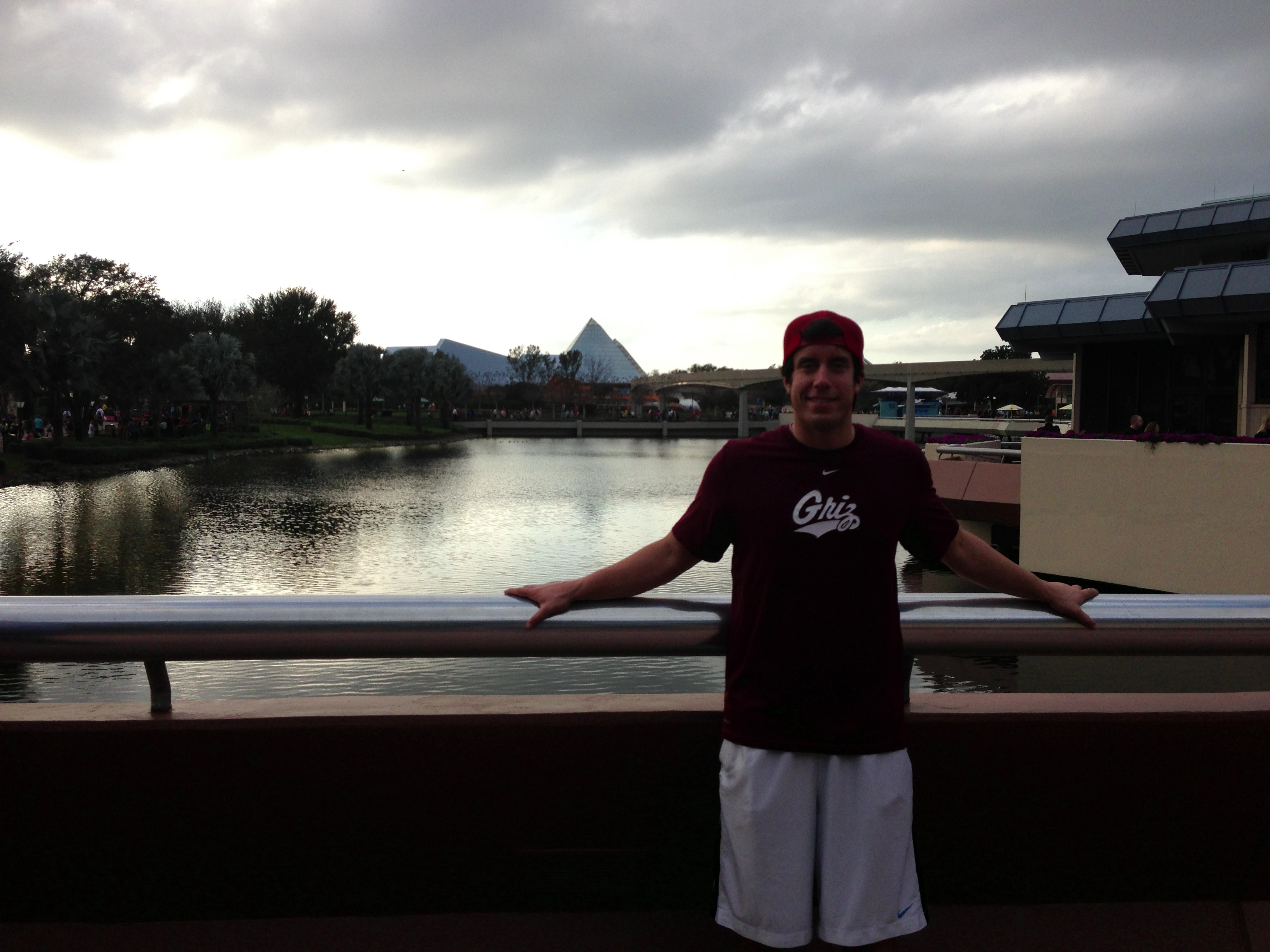 Myself at Epcot