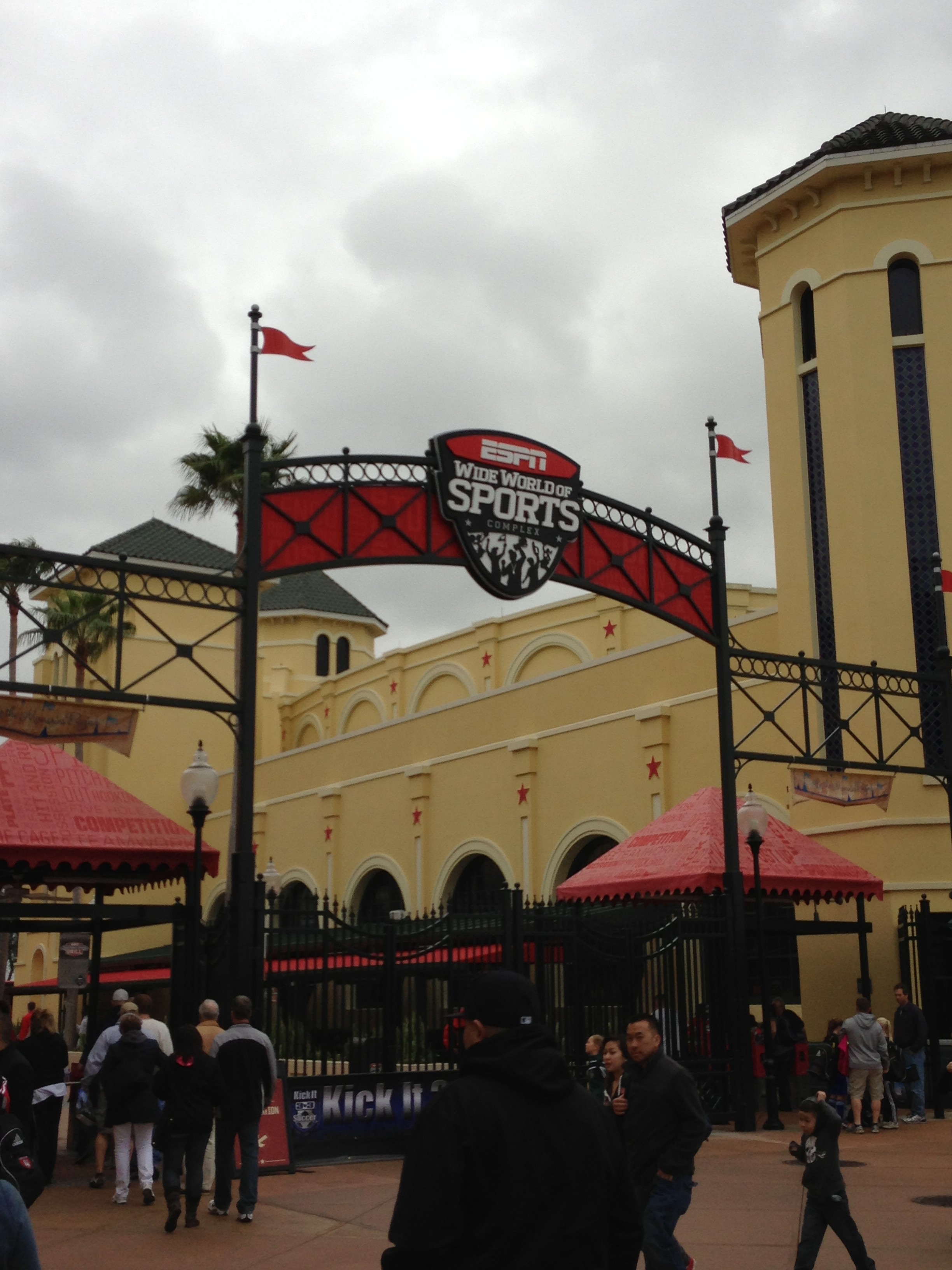 We competed at the ESPN Wide World of Sports.