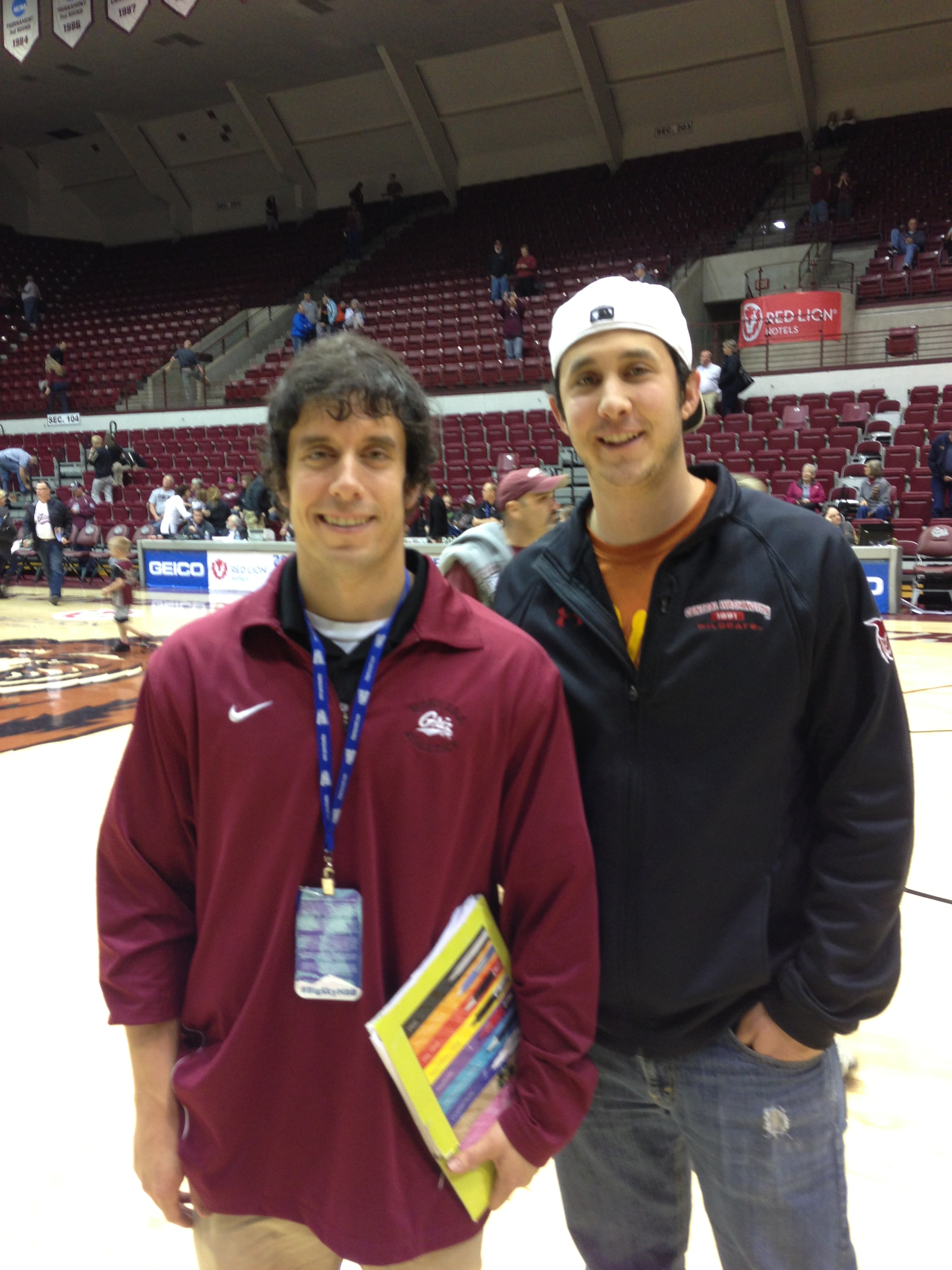 My brother traveled to Missoula for Championship Saturday.
