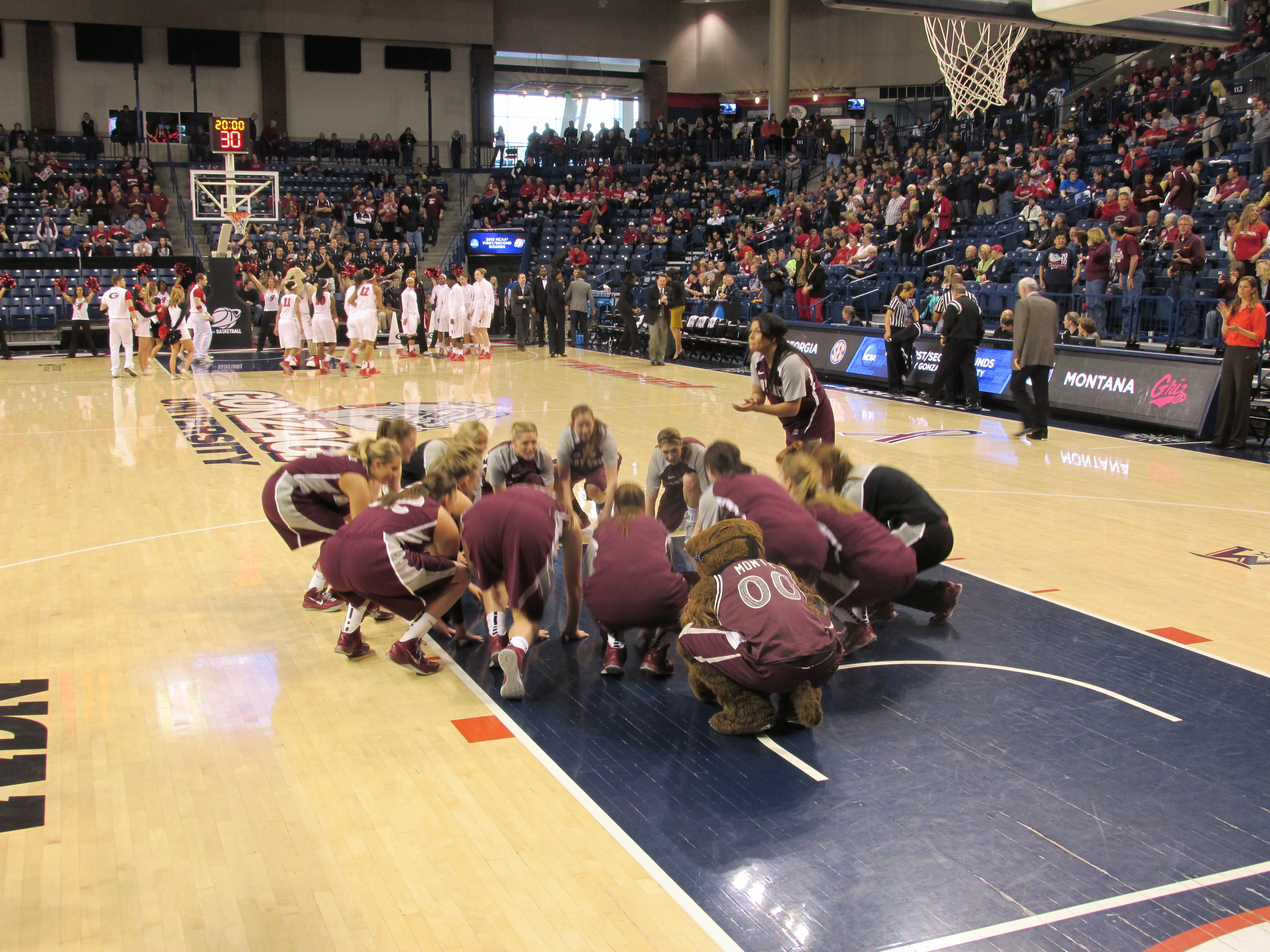The Lady Griz played well and competed.