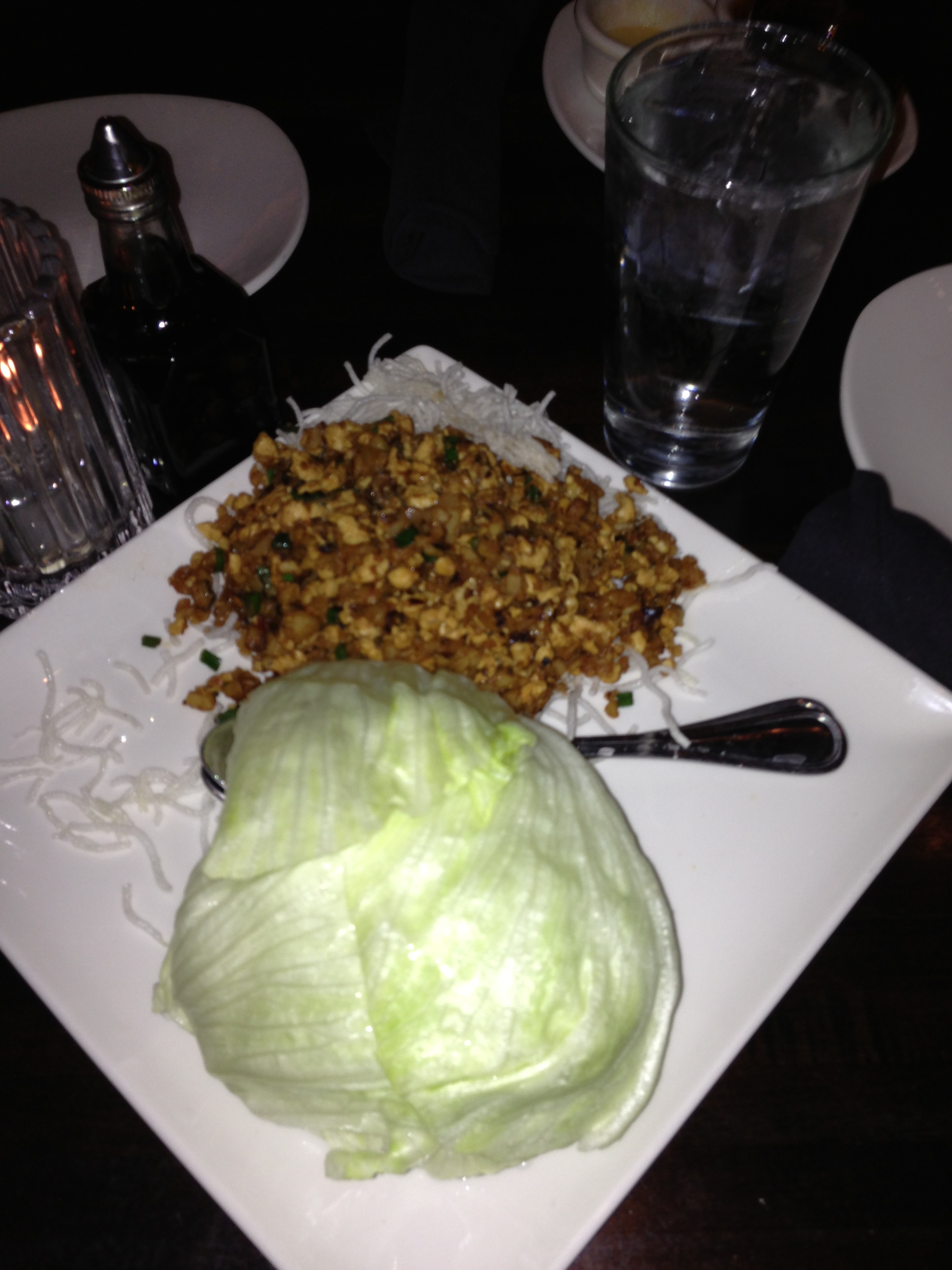 The delicious lettuce wraps we had this past Saturday.
