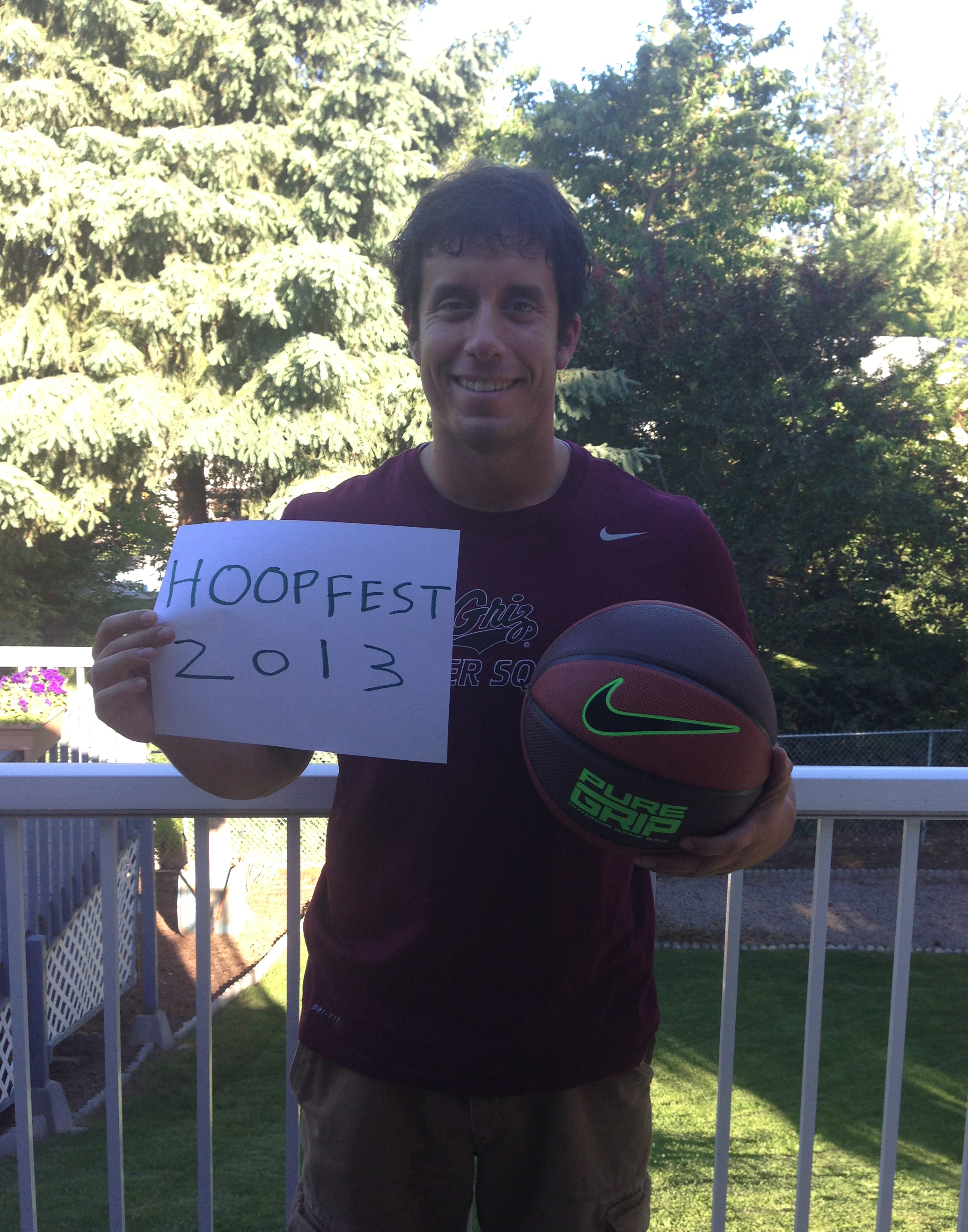I am pumped up for Hoopfest 2013!!