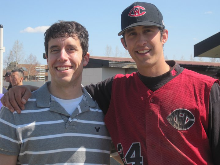 Glen is graduating from Central Washington where he played baseball.