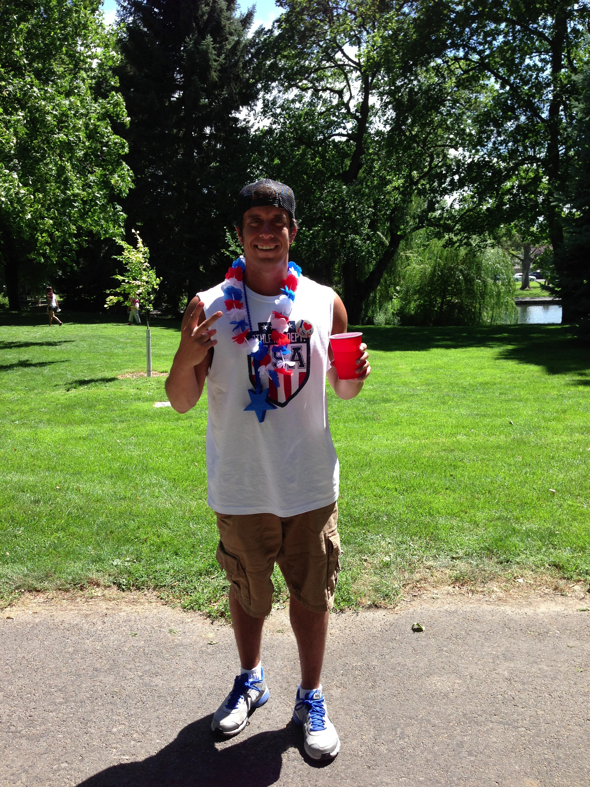 Me in Walla Walla at our family Fourth of July celebration in 2013.