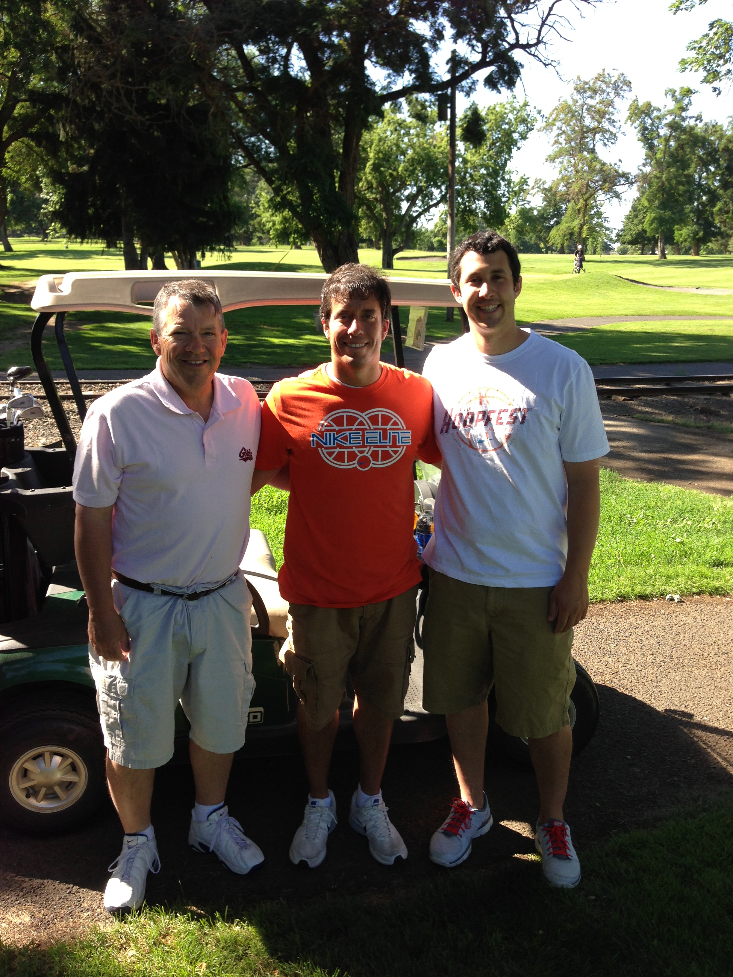 Golf was one activity that made this month great...playing with my dad and bro made it even better.