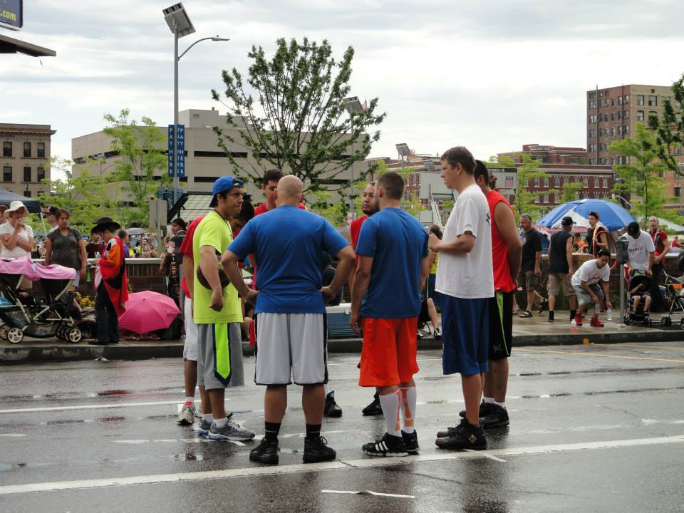 As a court monitor this year at Hoopfest, I presided over a family bracket.