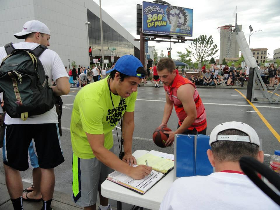 My sixth year as a court monitor at Hoopfest went very smoothly.
