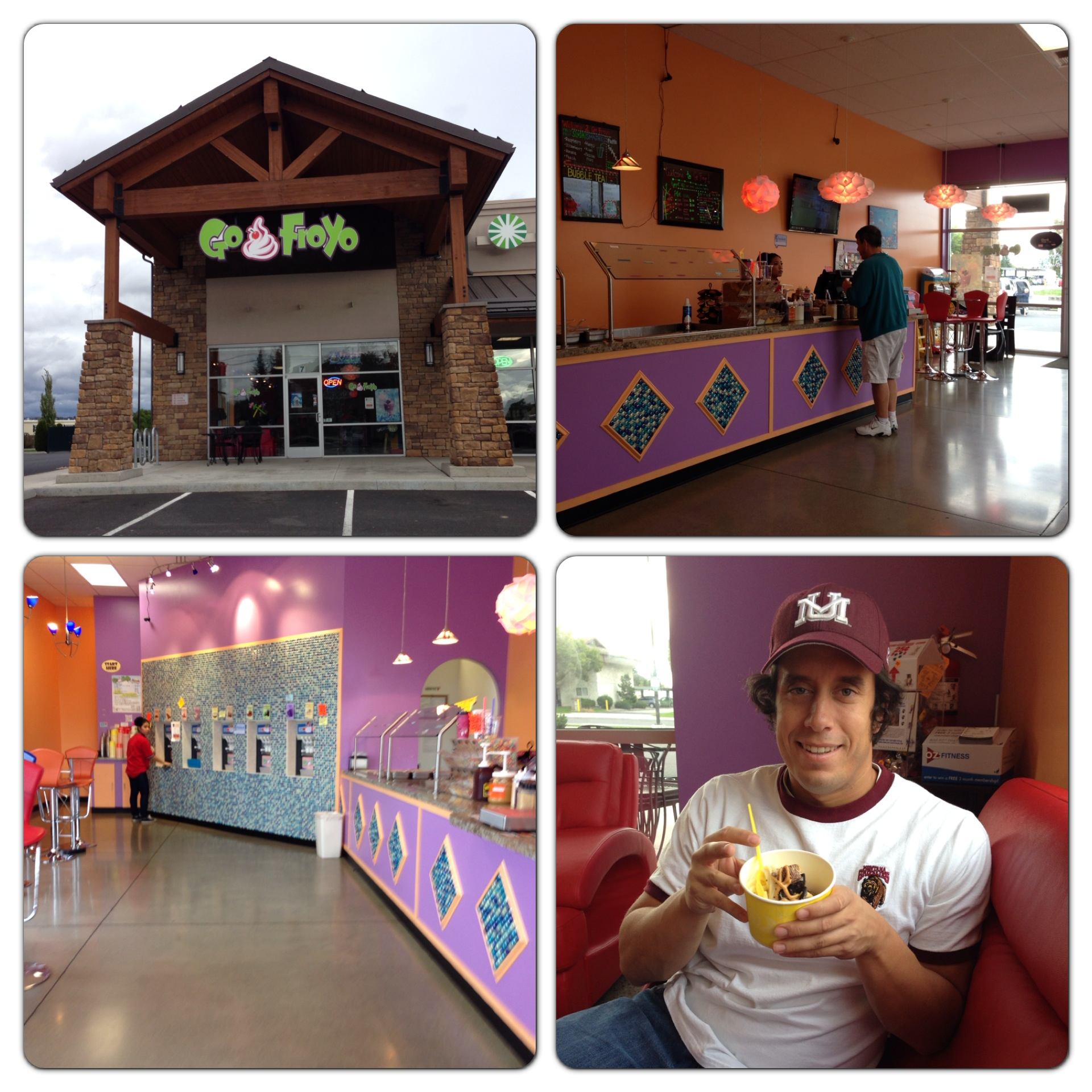 Myself at Go Froyo.