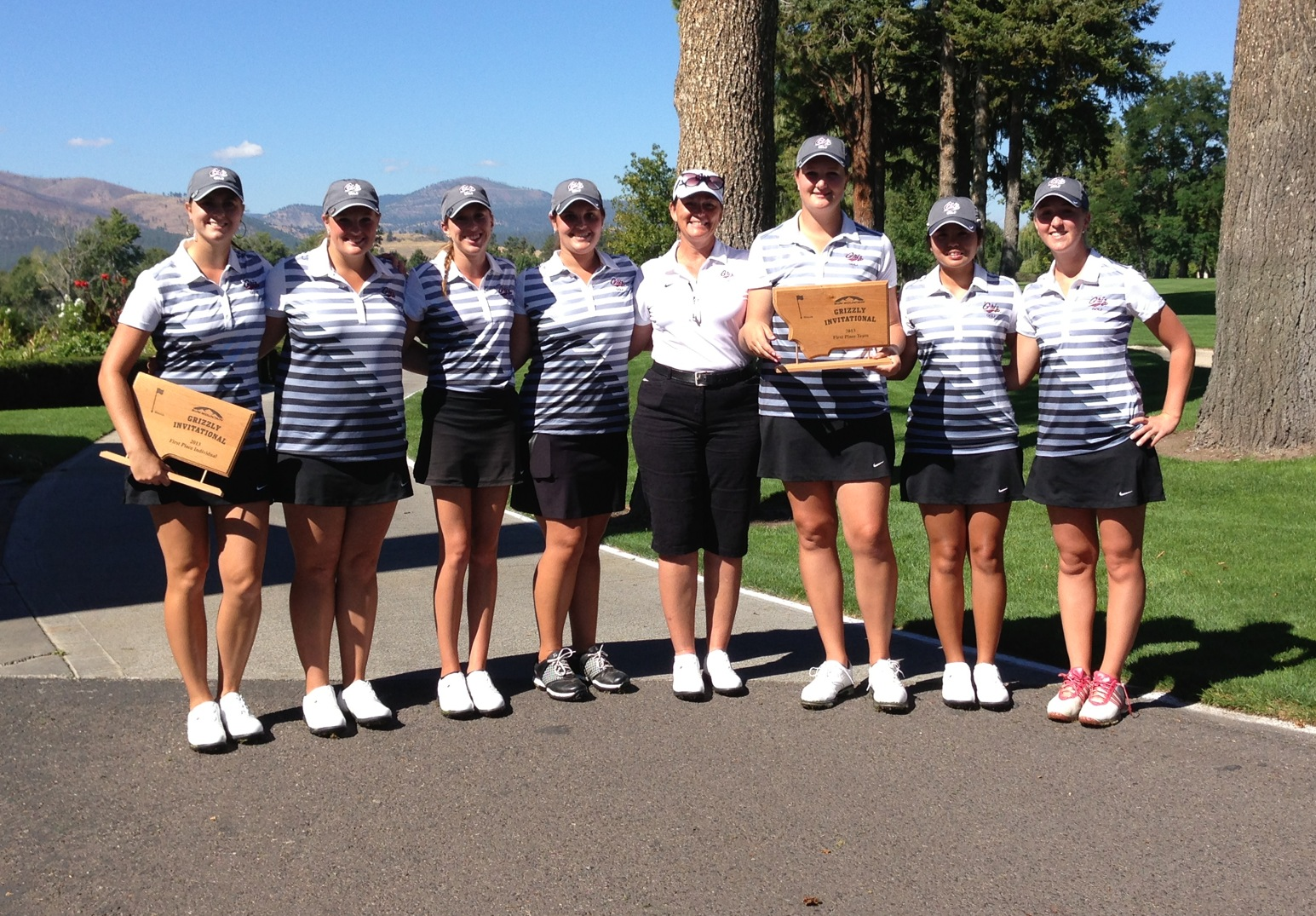 Congrats to the Griz golf team on winning the Sun Mountain Grizzly Invitational.