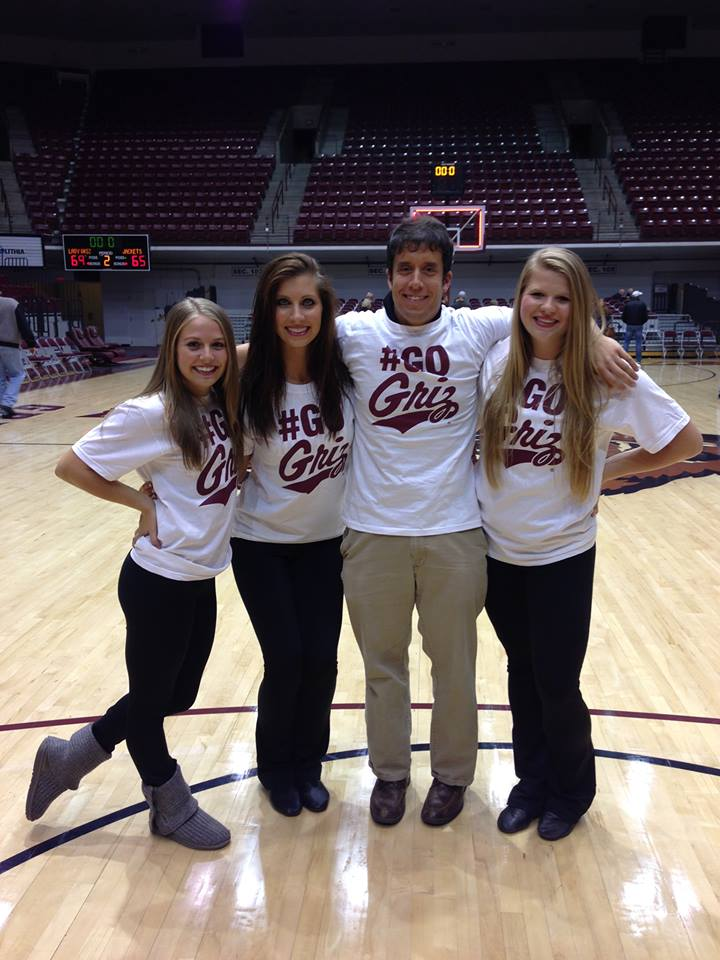 I am proud to rock our Griz Social Media t-shirts.