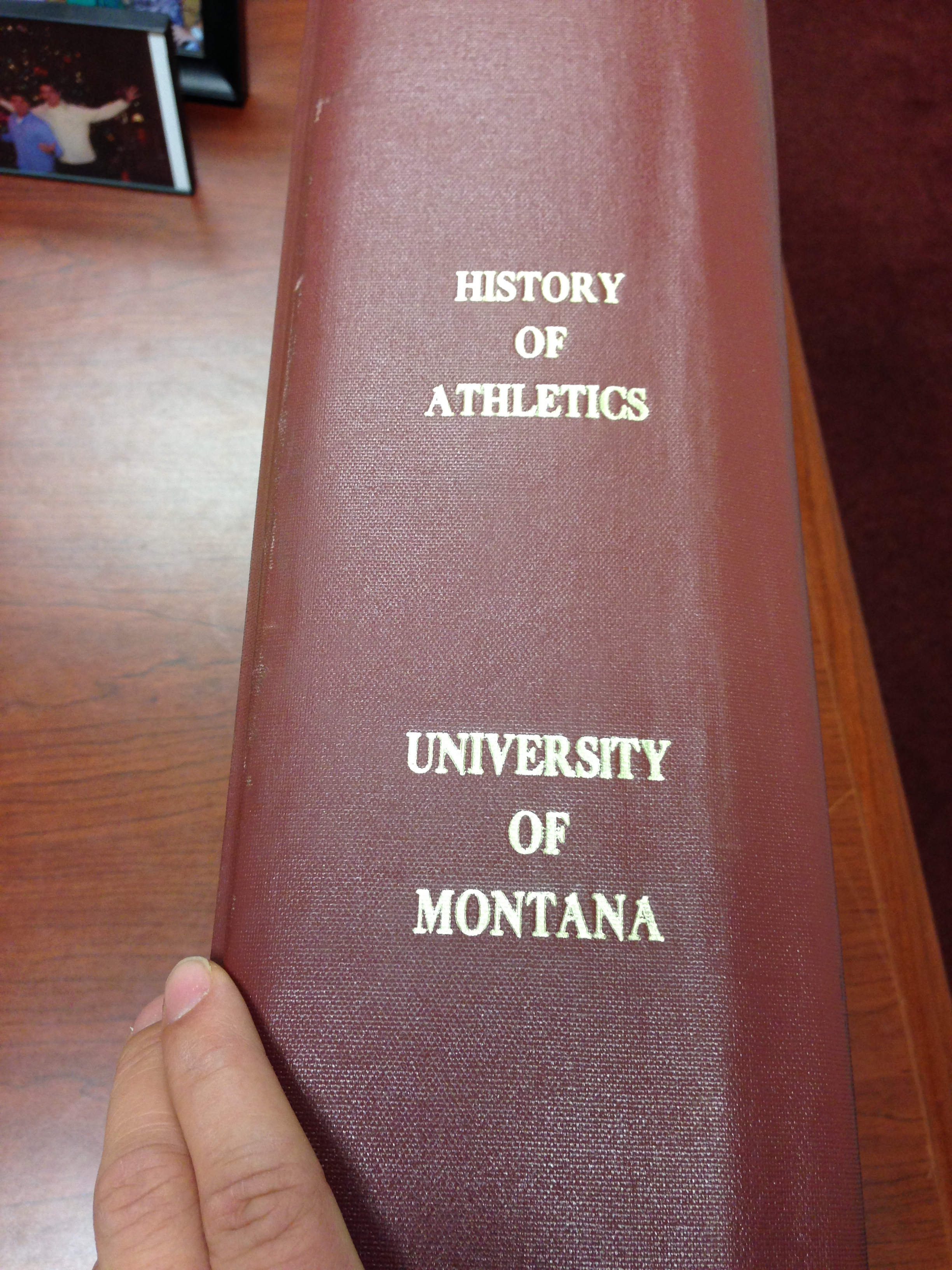 The Red Book is one of the most precious items within Grizzly Athletics.