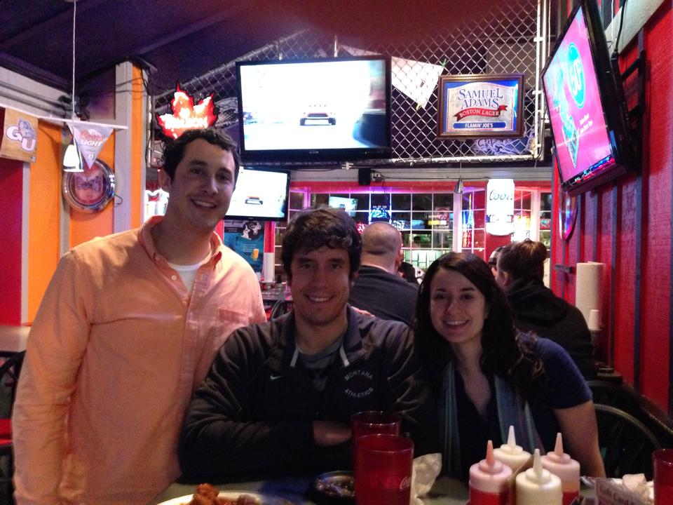 Had such a nice time hanging out with my brother and sister. This was my first night in Spokane at Flamin' Joes