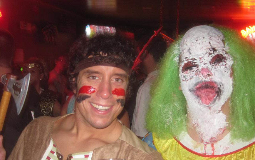 I had an encounter with this clown and I am pleased to report that I survived.