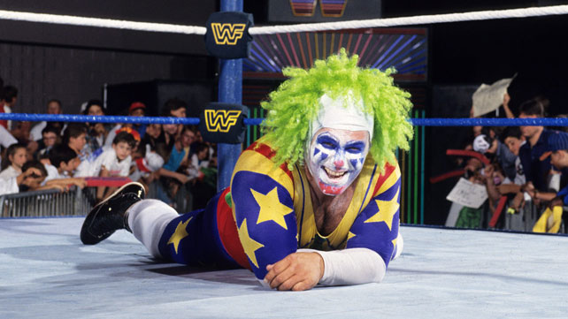 A clown I watched a lot during my childhood...Doink the Clown.