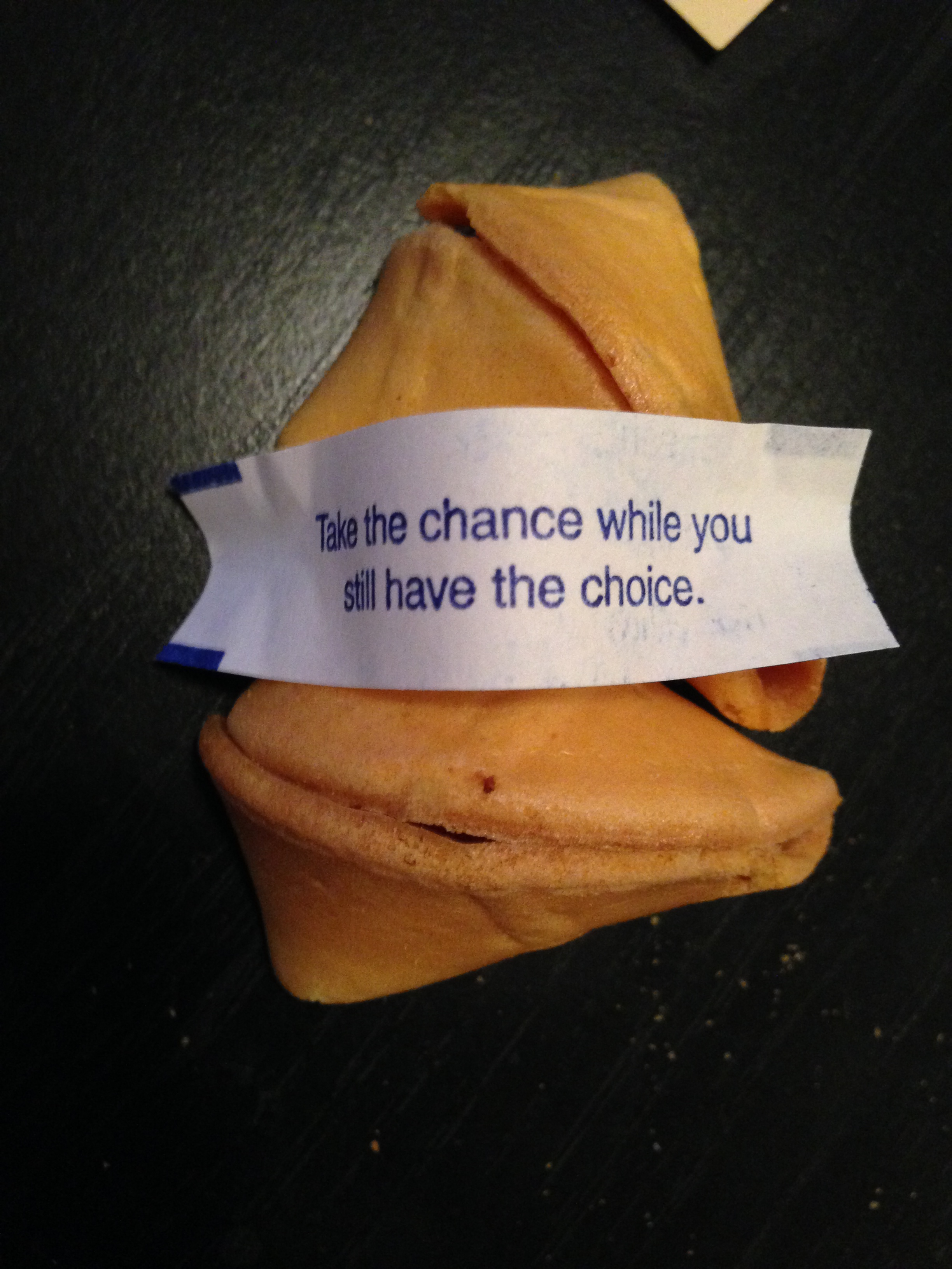 This fortune cookie message was my favorite.