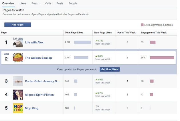 I can't wait until Pages to Watch becomes available. Will be a great tool for all Facebook page administrators.