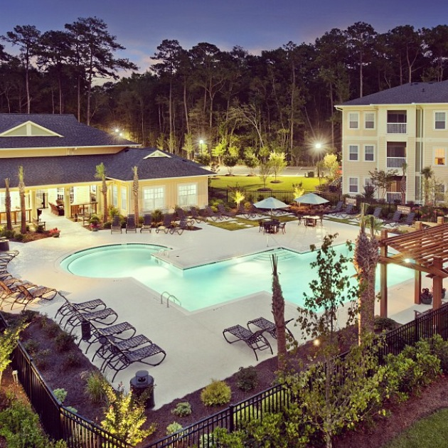 An image of the apartment complex I will be living in. Thanks to the Alexan Withers Preserve Instagram account for the photo. (@alexanwithers)