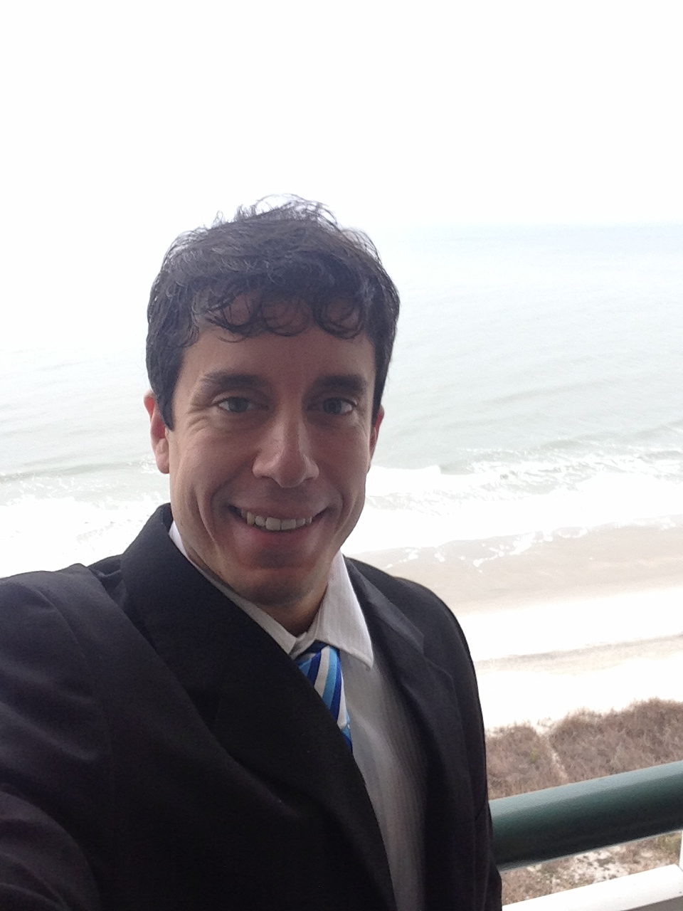 When I visited Coastal Carolina in March for my on-site interview I had a hotel room with a balcony that overlooked the ocean.