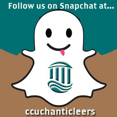 #CCU Social Media opened up its Snapchat account for business!