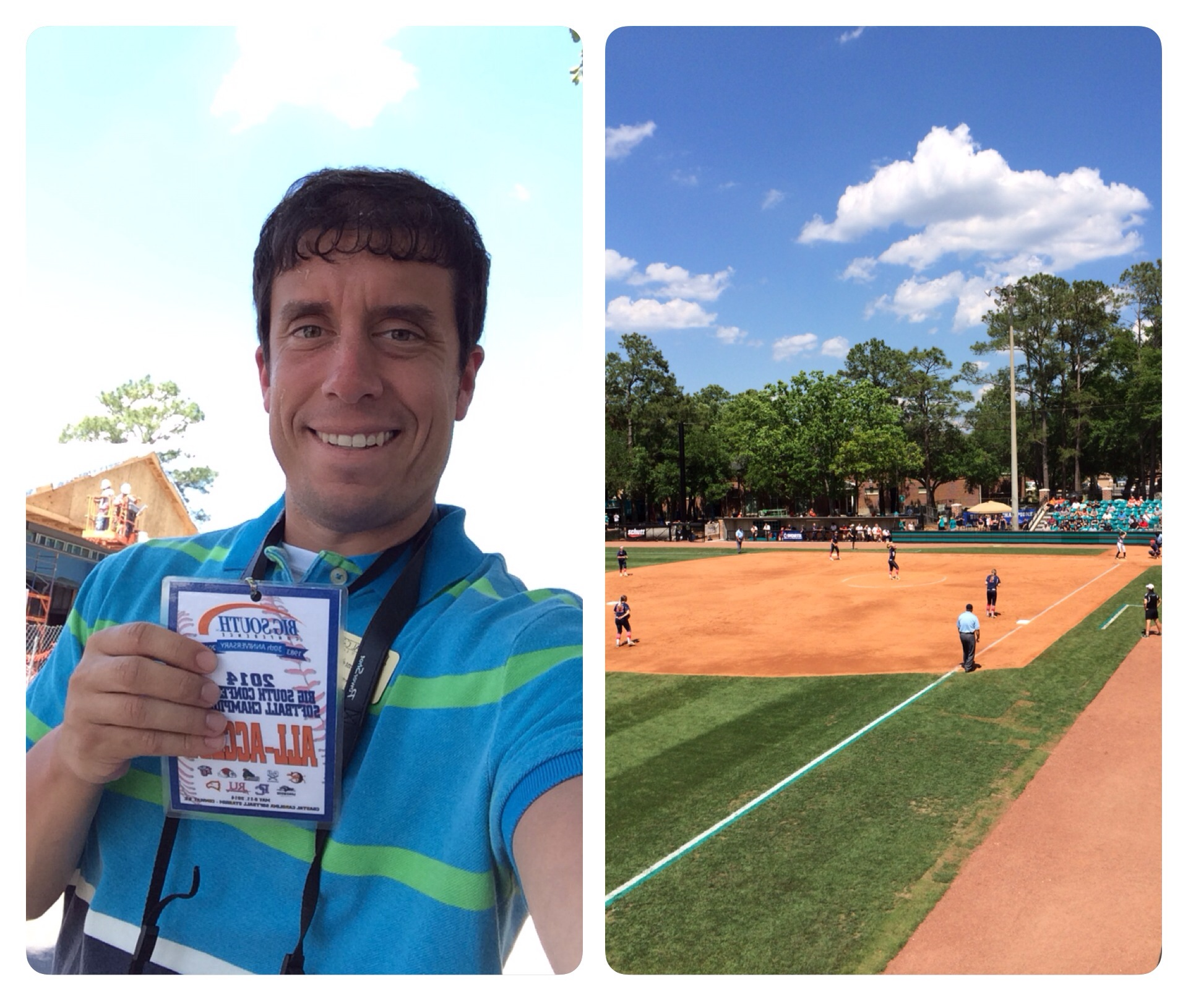 I had a great time attending the softball tournament and seeing how another athletic department does things.