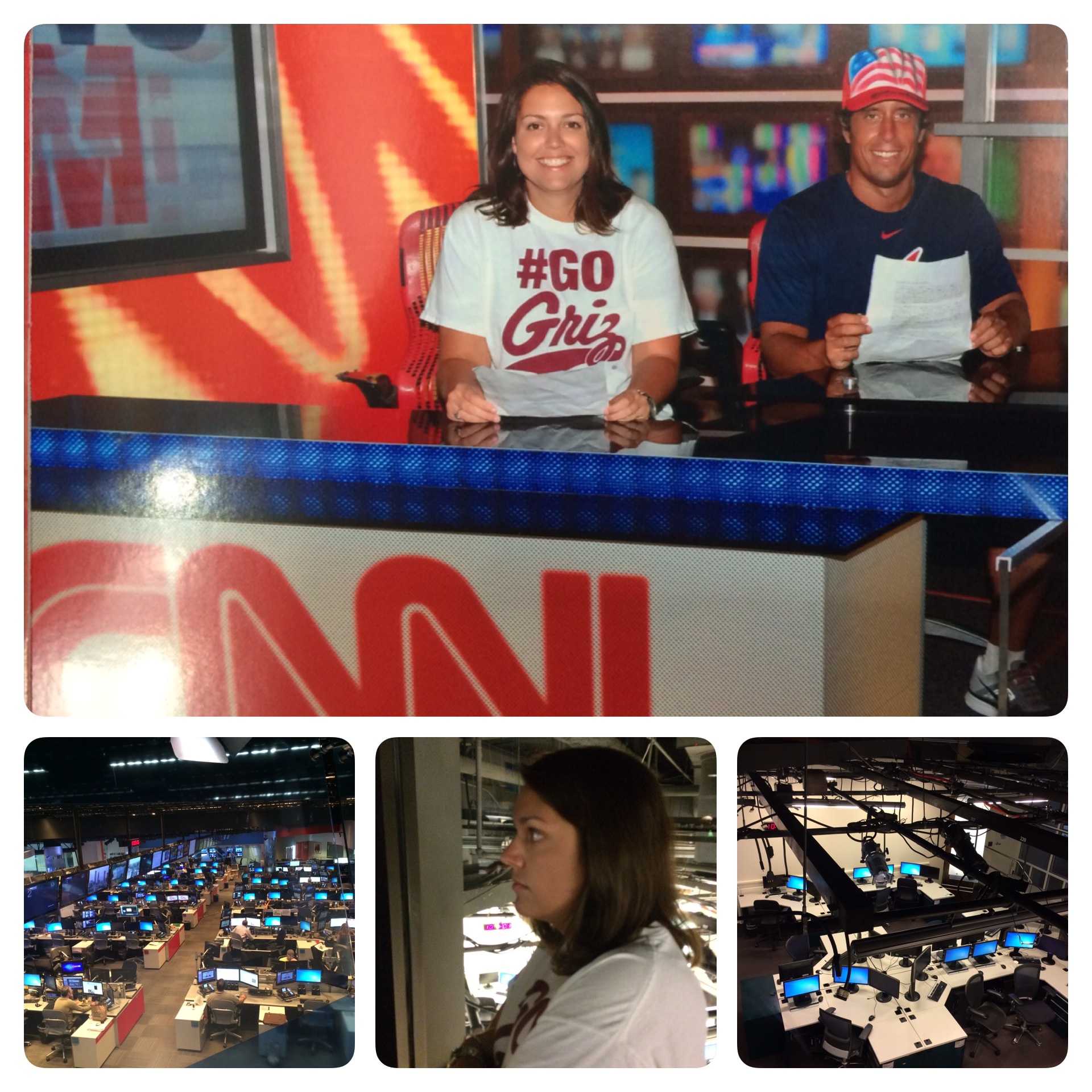 The CNN tour was very interesting.