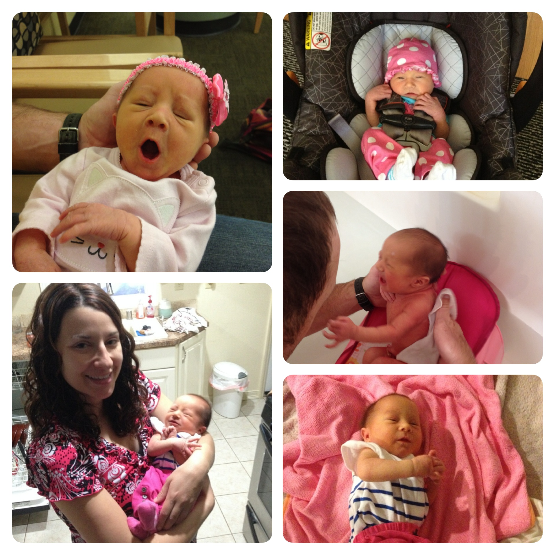 Here are some photos I threw together of my niece, Mikayla. My sister, Miranda, is in the photo on the bottom left.