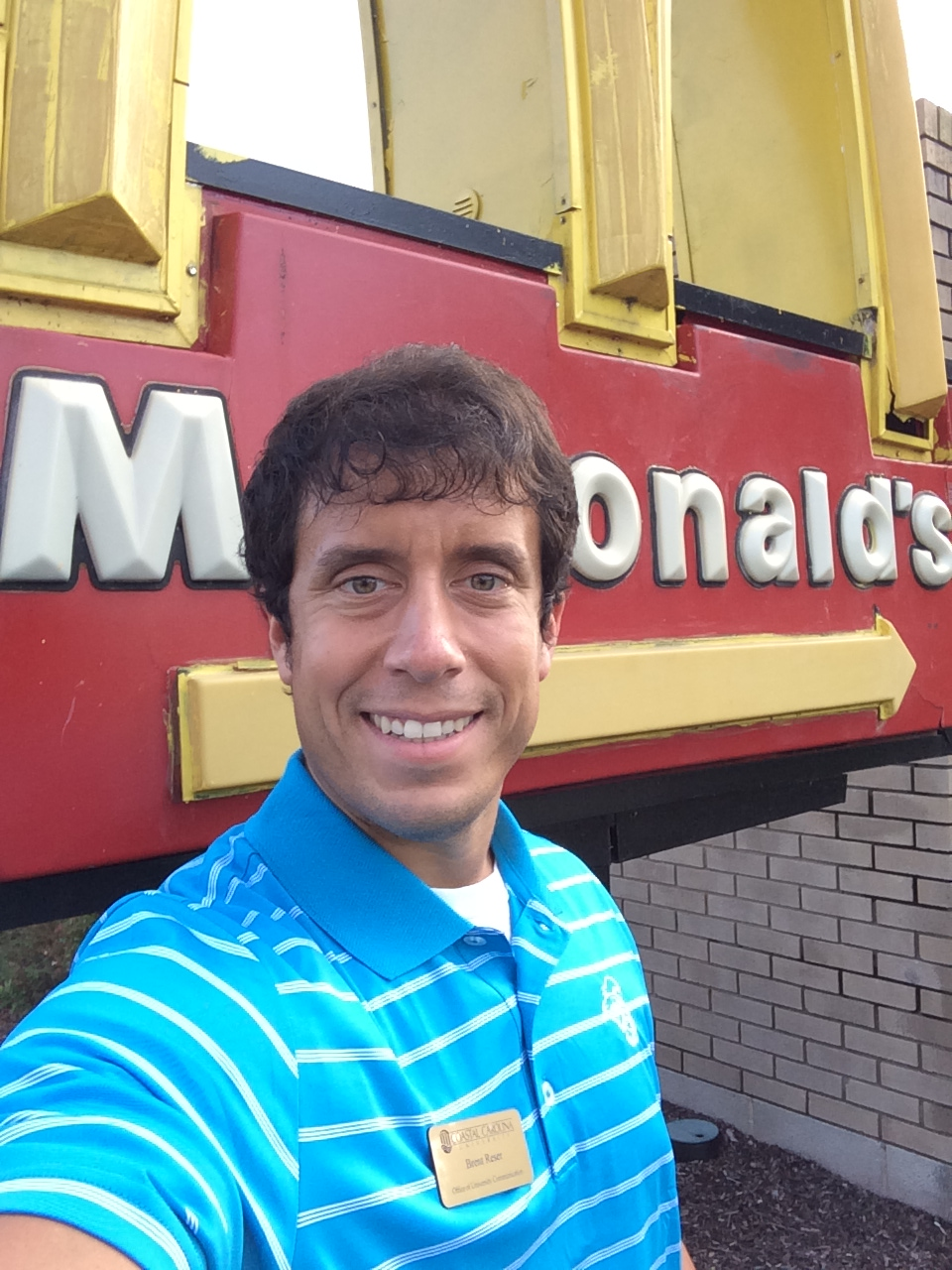 I have five ideas to help McDonalds. And yes, only I would go out of my way on the drive home to find a McDonalds and take a selfie at the sign for a blog post.
