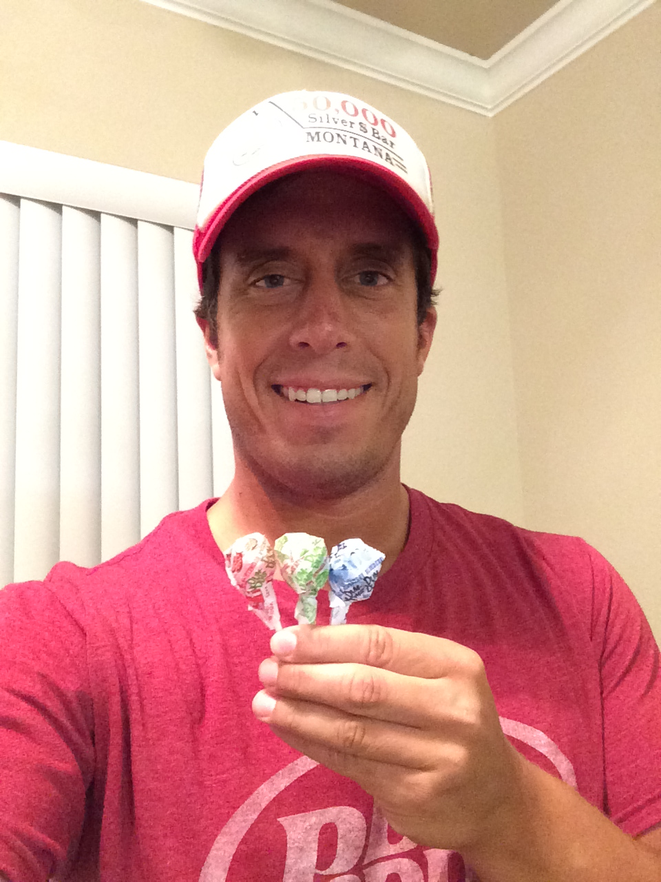 Me with some Dum Dums.