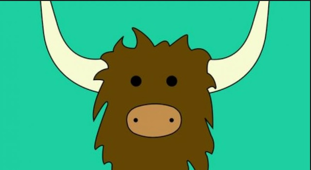 Get used to seeing this, it is the Yik Yak logo.