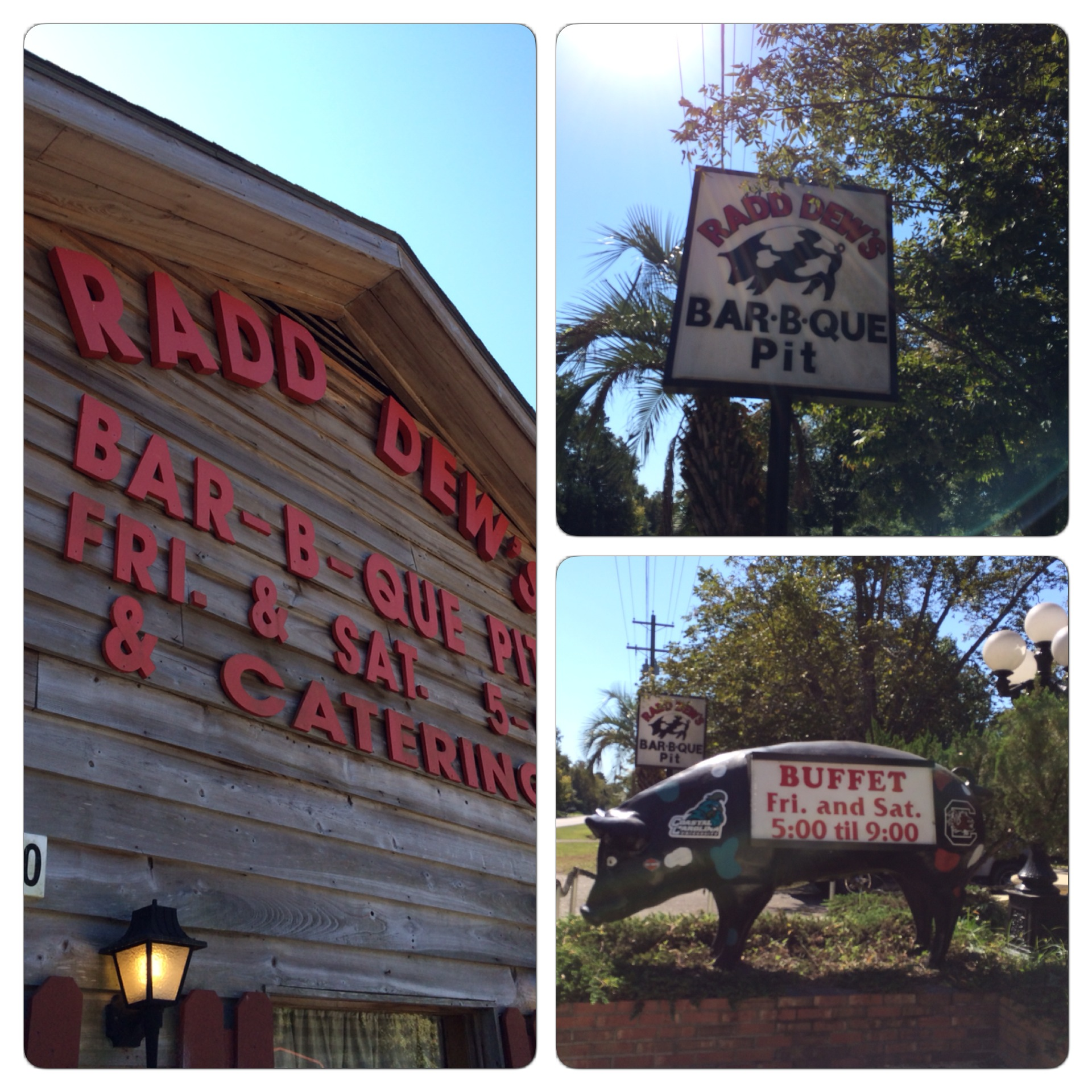 Welcome to Radd Dew's Bar-B-Que Pit!