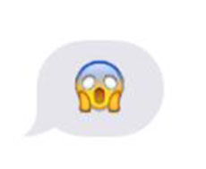 The Scream emoticon is my absolute favorite.