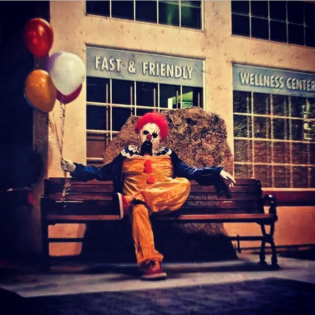 One of the Bakersfield clowns.