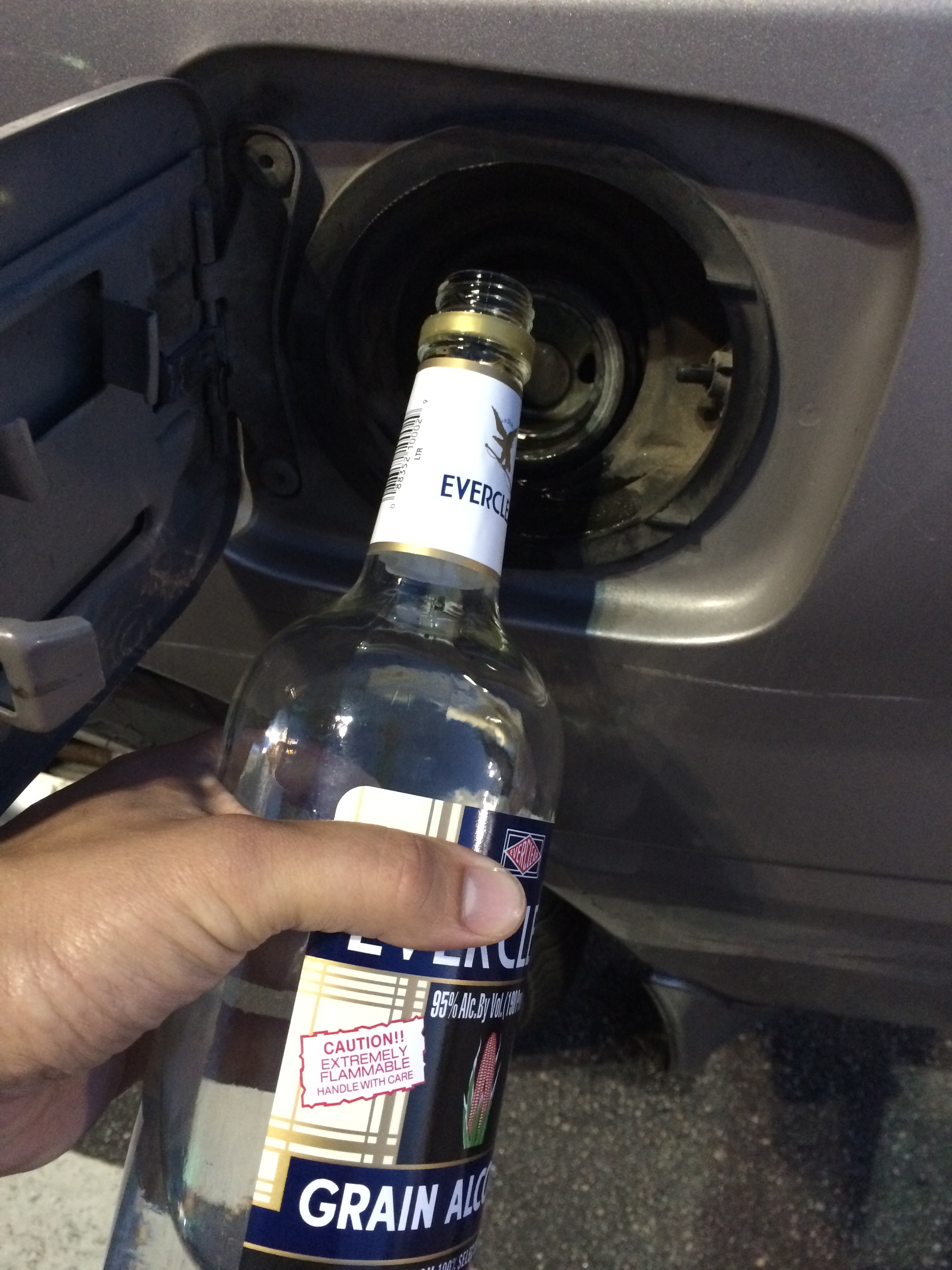 Yep. I put Everclear in my car. Complete waste of money and time.