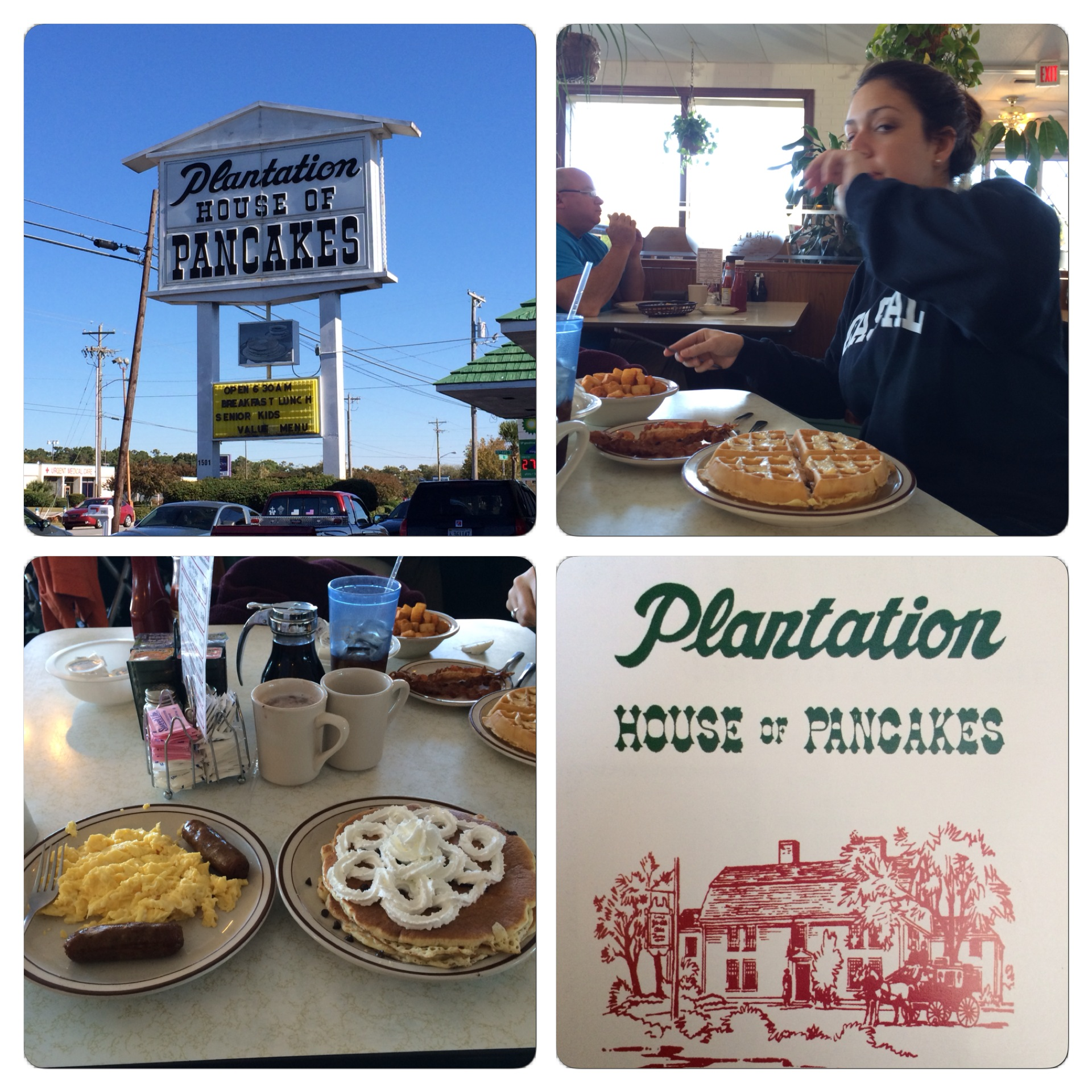 Had a very nice breakfast today at Plantation Pancake House.