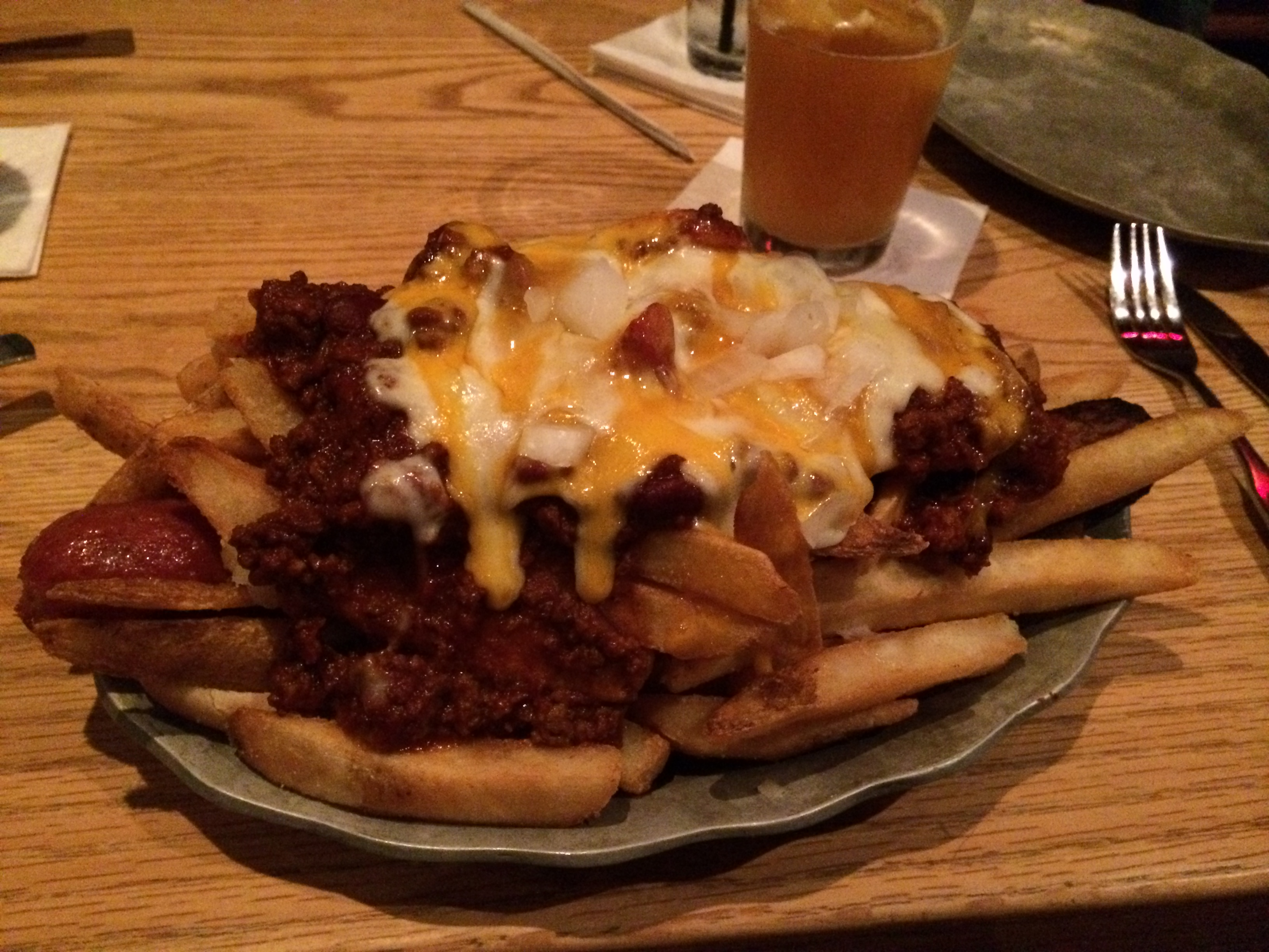 This was the Killer Dog I had at Carolina Roadhouse on Saturday.