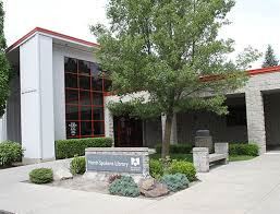 This is the North Spokane Public Library, the library I grew up going to. (Photo courtesy of www.scld.com).
