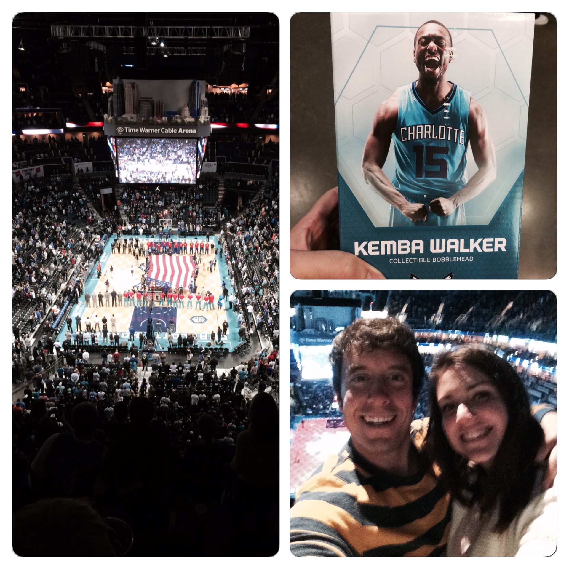 Some images from the game. It was cool to see an NBA game in Charlotte but probably wouldn't do it again.