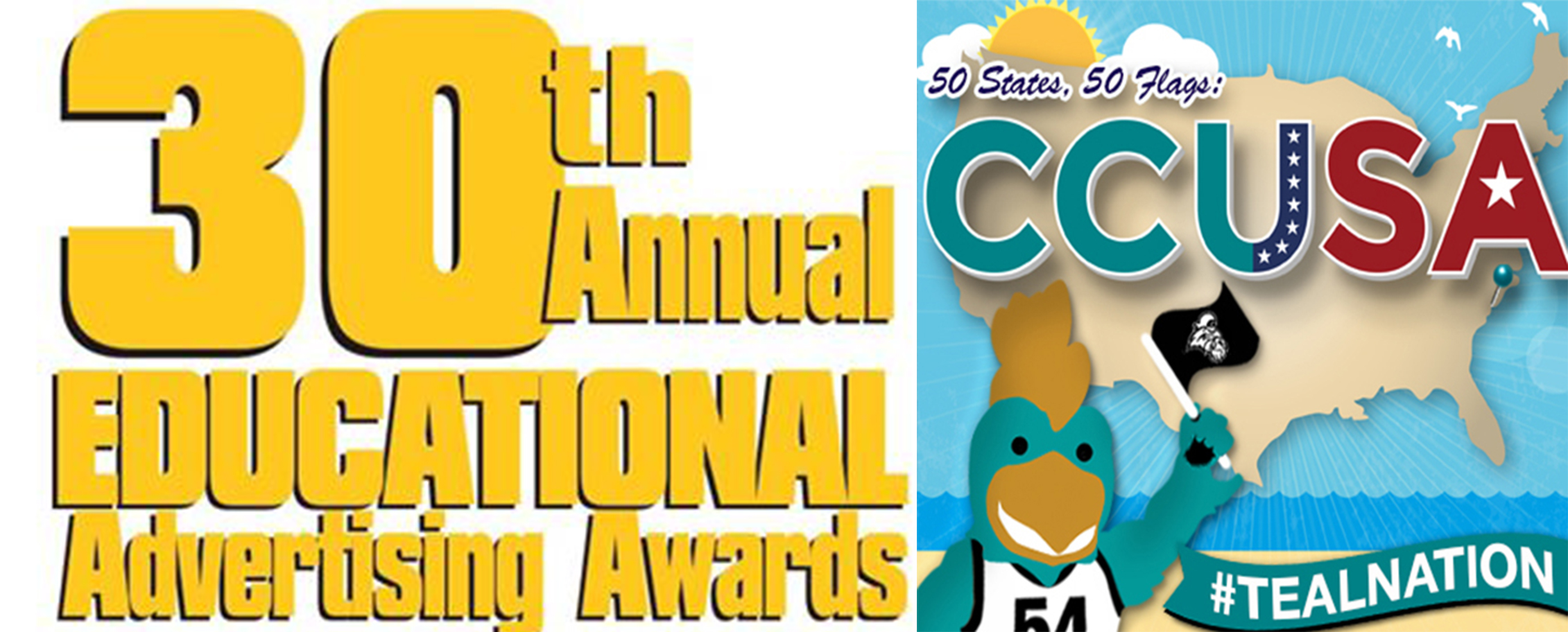 #CCUSA earned some recognition through the Educational Advertising Awards.