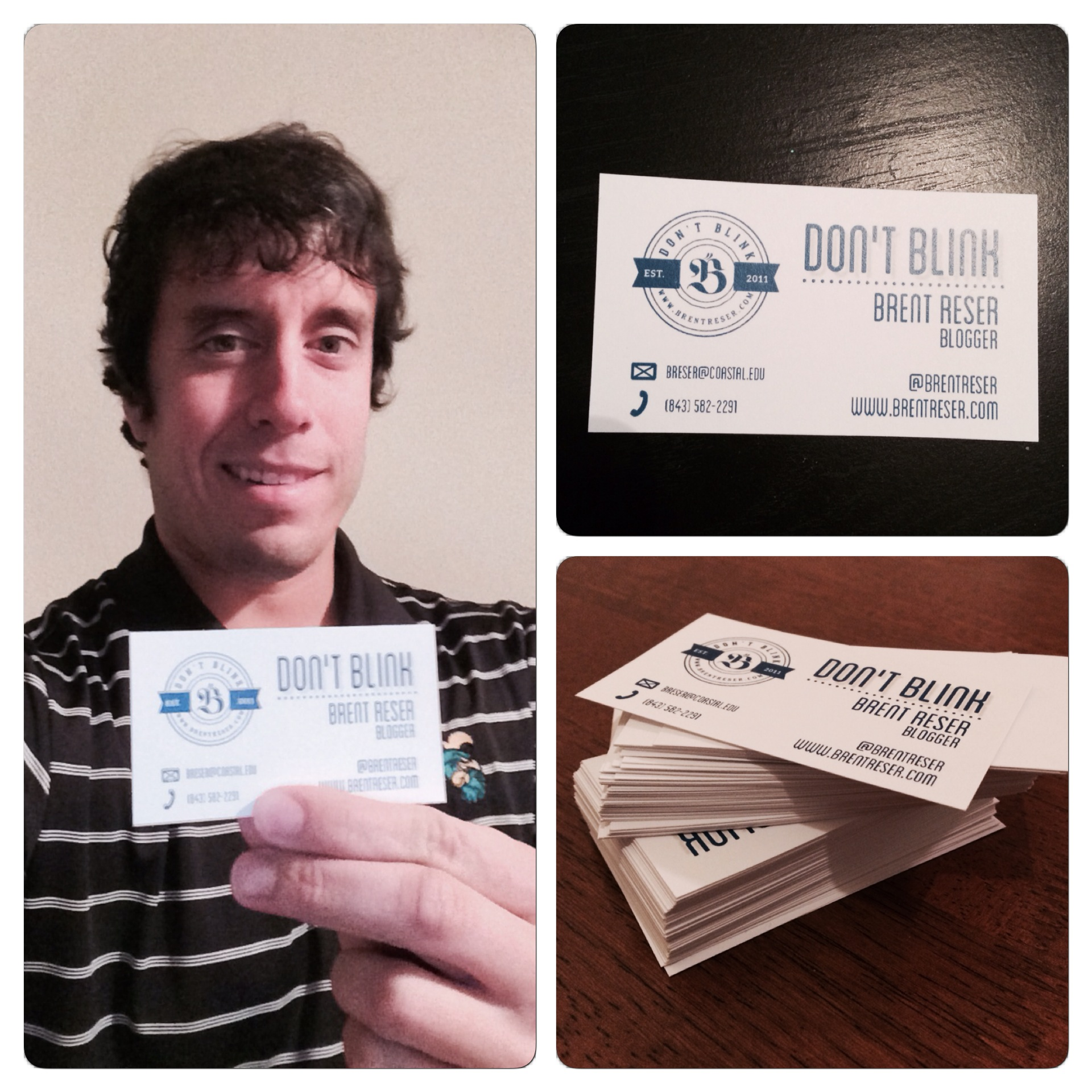 These are the business cards that a seller off of Fiverr created for me.