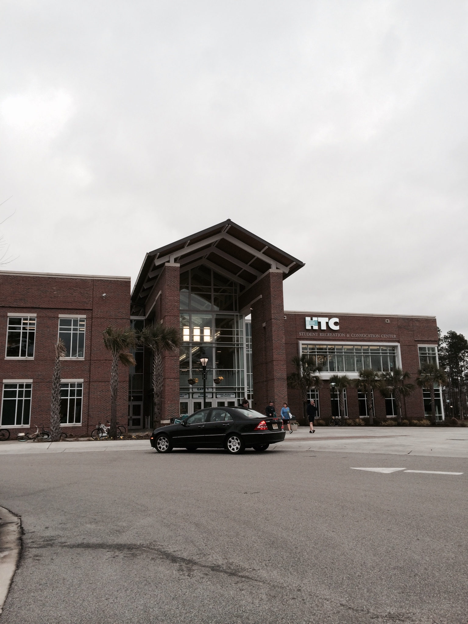 This is the very front of the HTC Center...my gym.