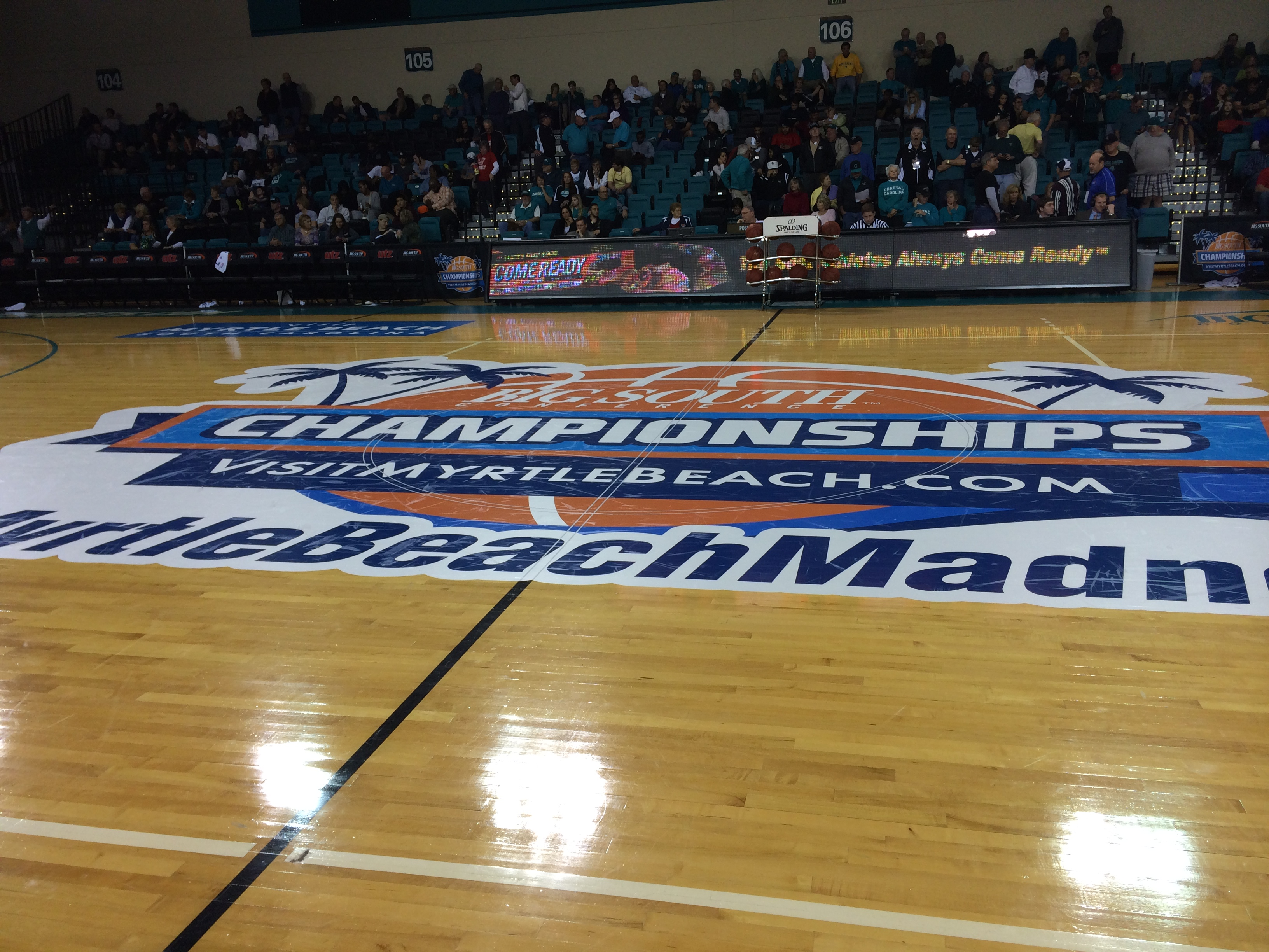 I had a great time working the Big South Championship.