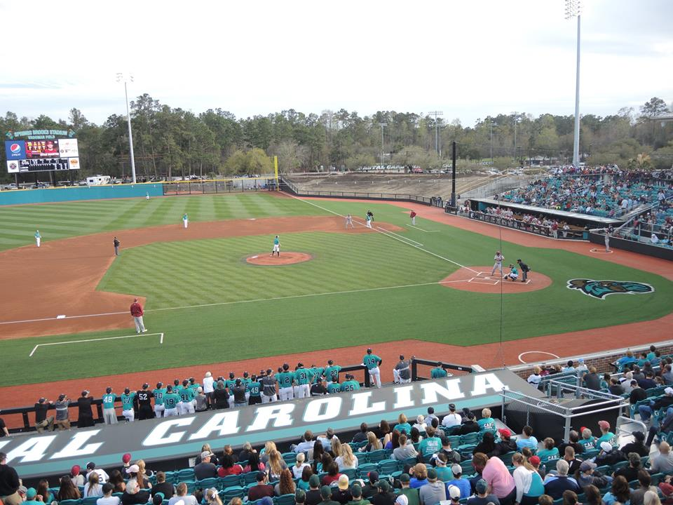 The Coastal baseball team pulled off a big victory against powerhouse South Carolina.