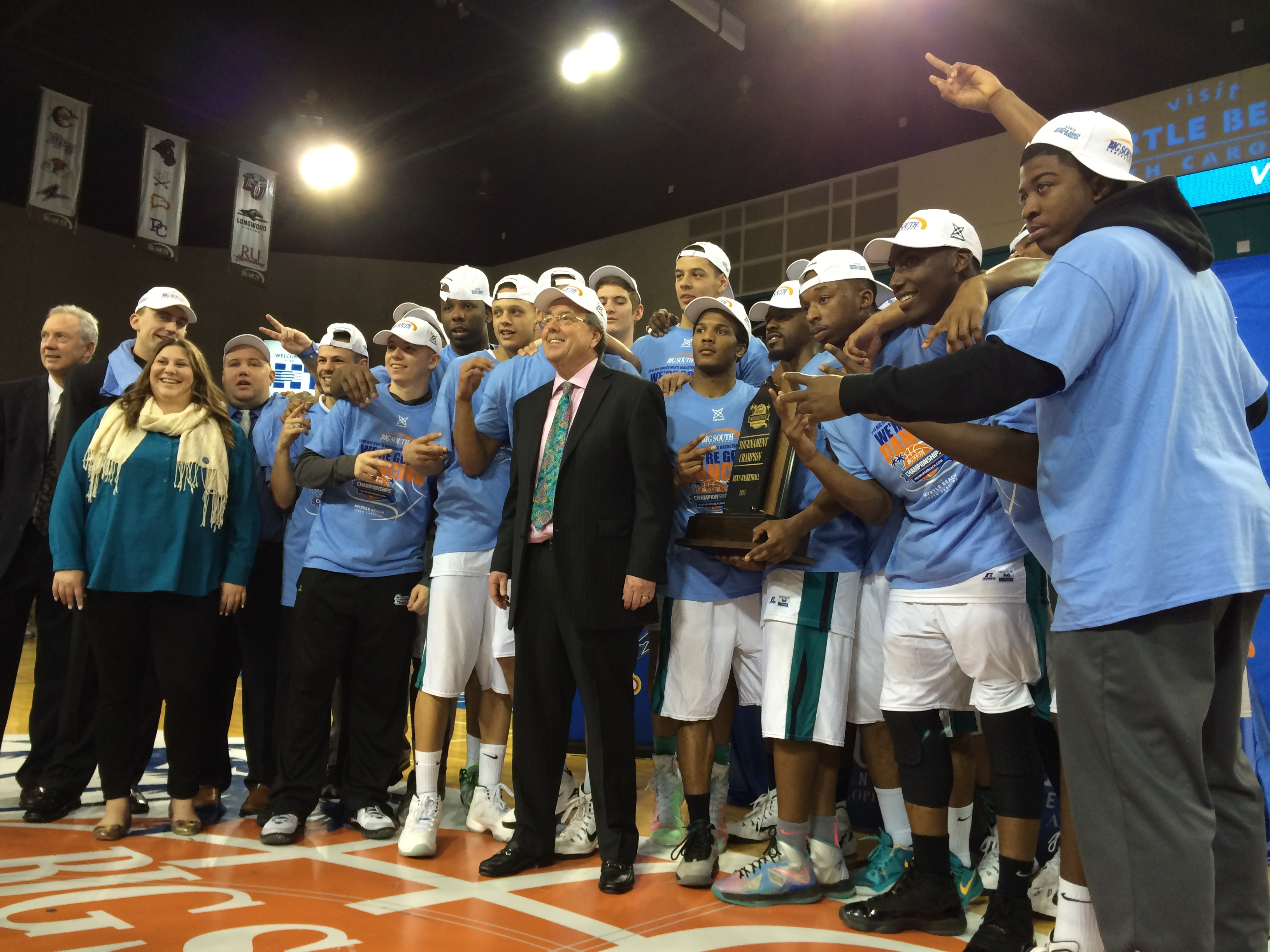 Coach Cliff Ellis led his team to a second consecutive NCAA Tournament appearance.