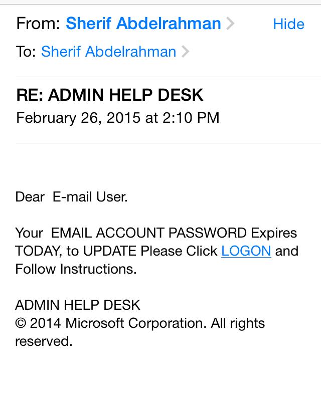 Well, I am definitely an e-mail user.