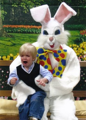 "Creating a ""cute' Easter Bunny is impossible."