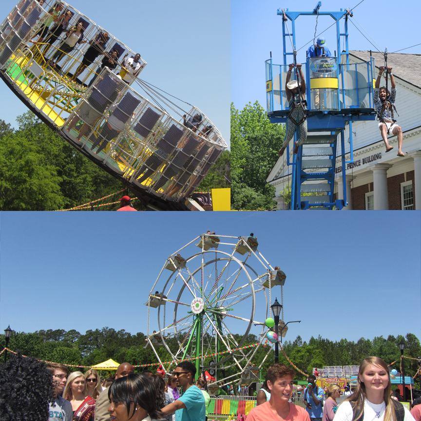 A look at the rides at CINO Day this past Friday.