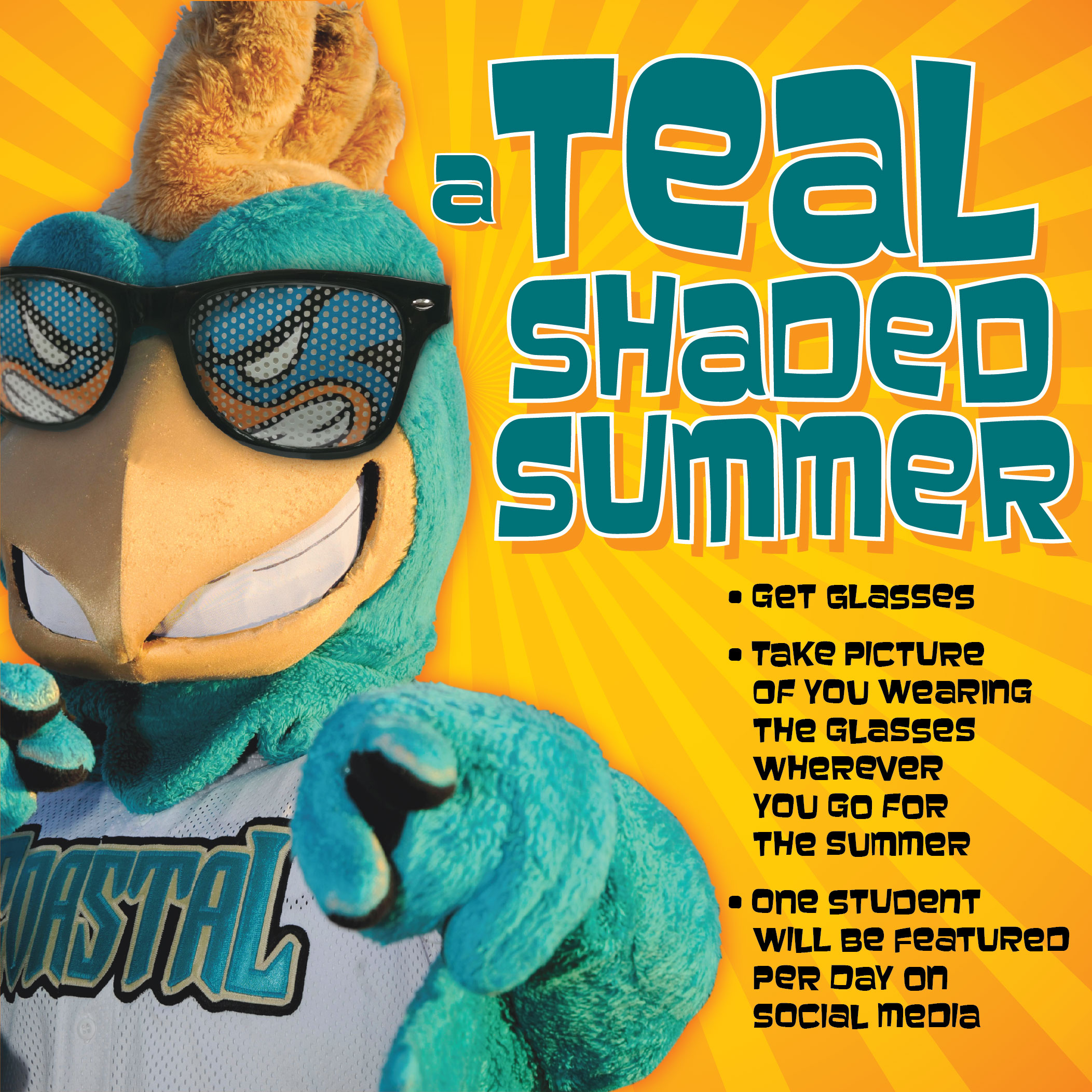 The Teal Shaded Summer will kick off on May 25.
