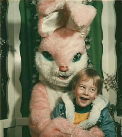 Easter Bunnies are just odd.